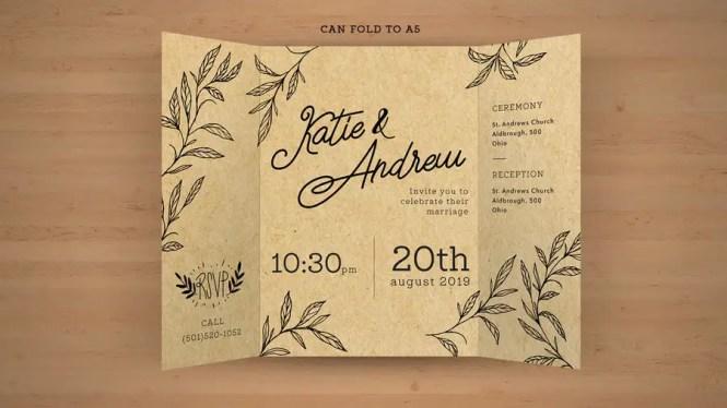 For Design A Rustic Wedding Invite