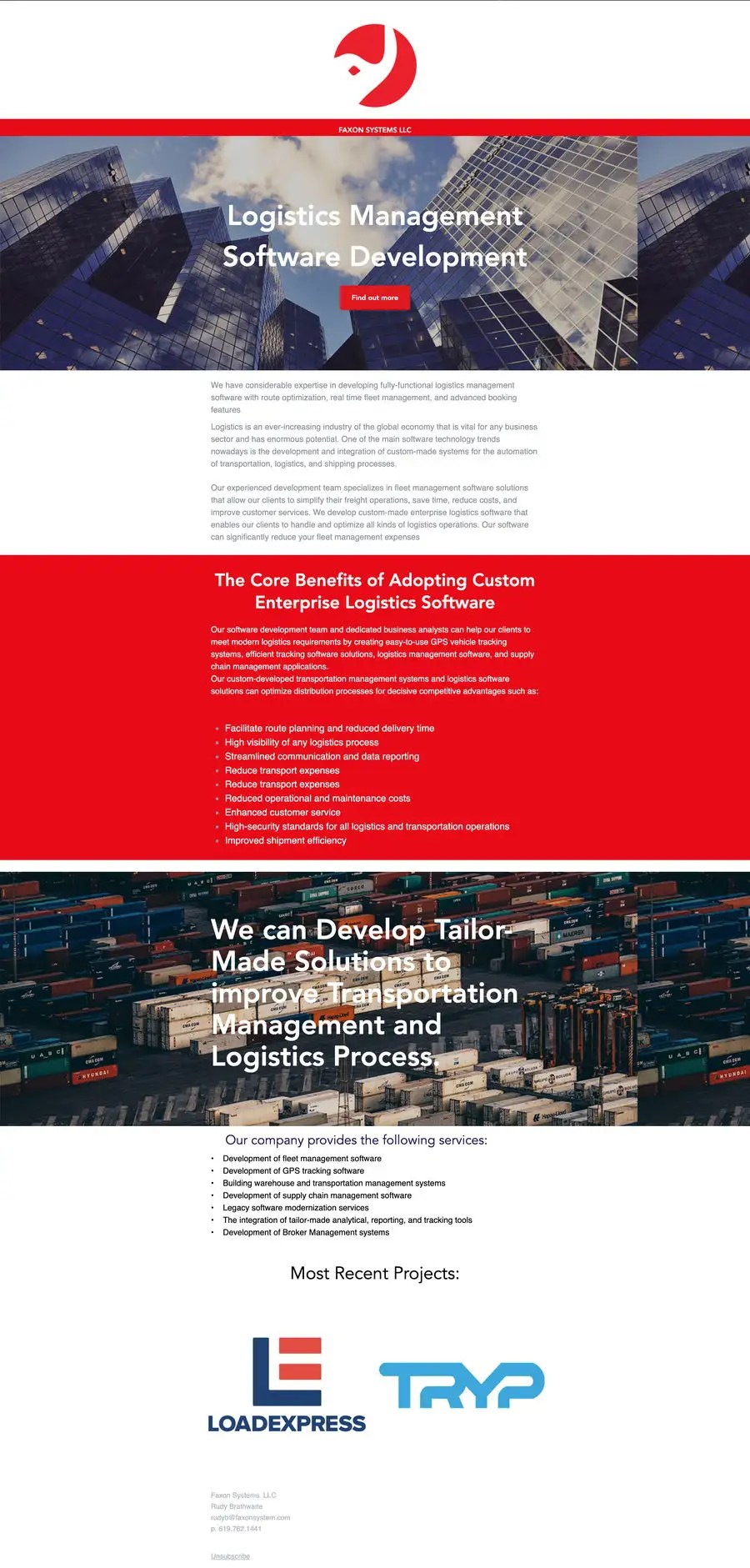 11 best logistics sales email templates · 1) introducing your services to prospects · 2) the business differentiator email · 3) problem and solution email · 4). Entry 9 By Alexrepstel For Email Template Design Freelancer