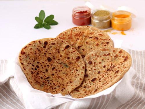 Image result for paneer pyaj paratha