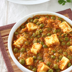 Shahi Paneer Recipe   Punjabi Curry with Cashew Nut based Tomato Gravy Matar Paneer