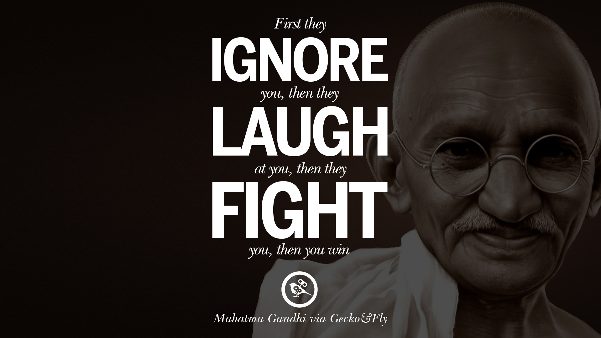 20 mahatma gandhi quotes and frases on peace, protest, and civil