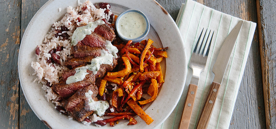 Green Chef Tandoori Steak