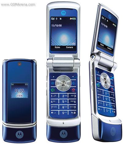 Motorola Krzr K1 Pictures Official Photos