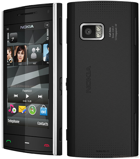 Nokia X6 8GB pictures, official photos