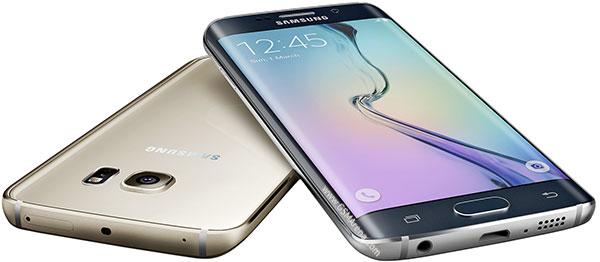Samsung Galaxy S6 Edge rebah