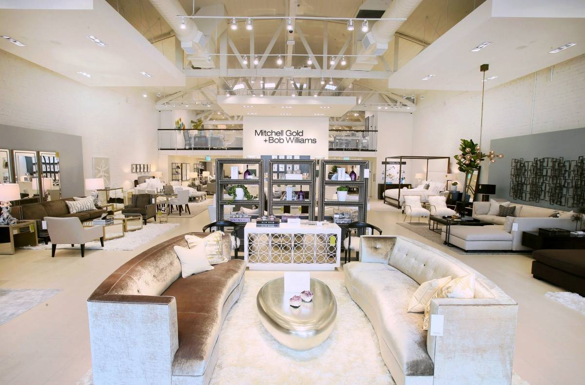 Mitchell Gold Bob Williams Open Beverly Hills Showroom
