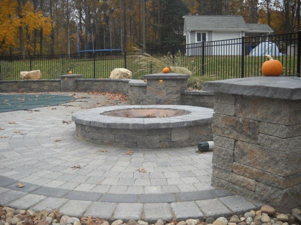 paver patio with fire pit design ideas 5 Things You Should Know BEFORE You Receive a Paver Patio
