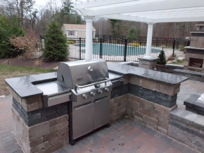 How do I plan my Outdoor Kitchen? on Built In Grill Backyard id=57400