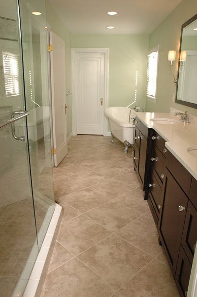 Project Spotlight Master Bath for a Vintage Home