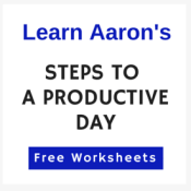 Teh Steps for Men to have a more productive day