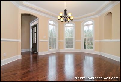 Raleigh New Homes | Trey Ceilings