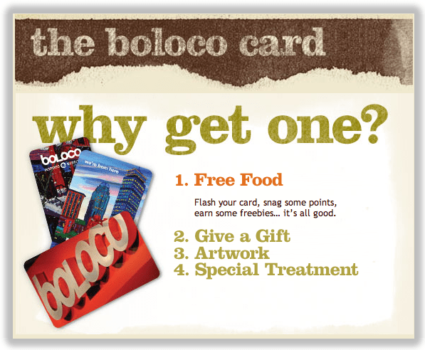 boloco loyalty program