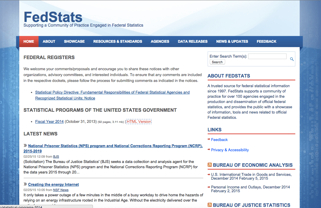 fed-stats