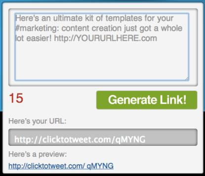 Clicktotweet example