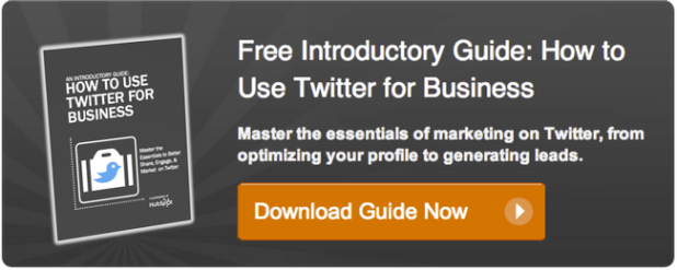 free intro to twitter for business ebook