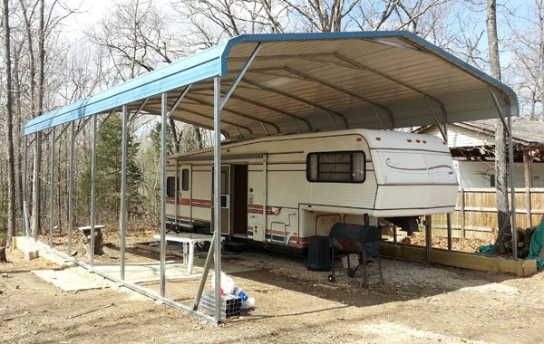 Great Prices On Metal RV Covers Customize An RV Carport