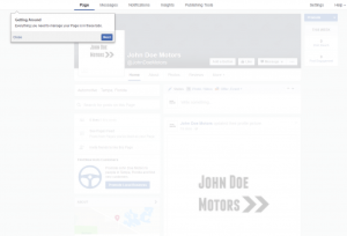 Facebook Getting started