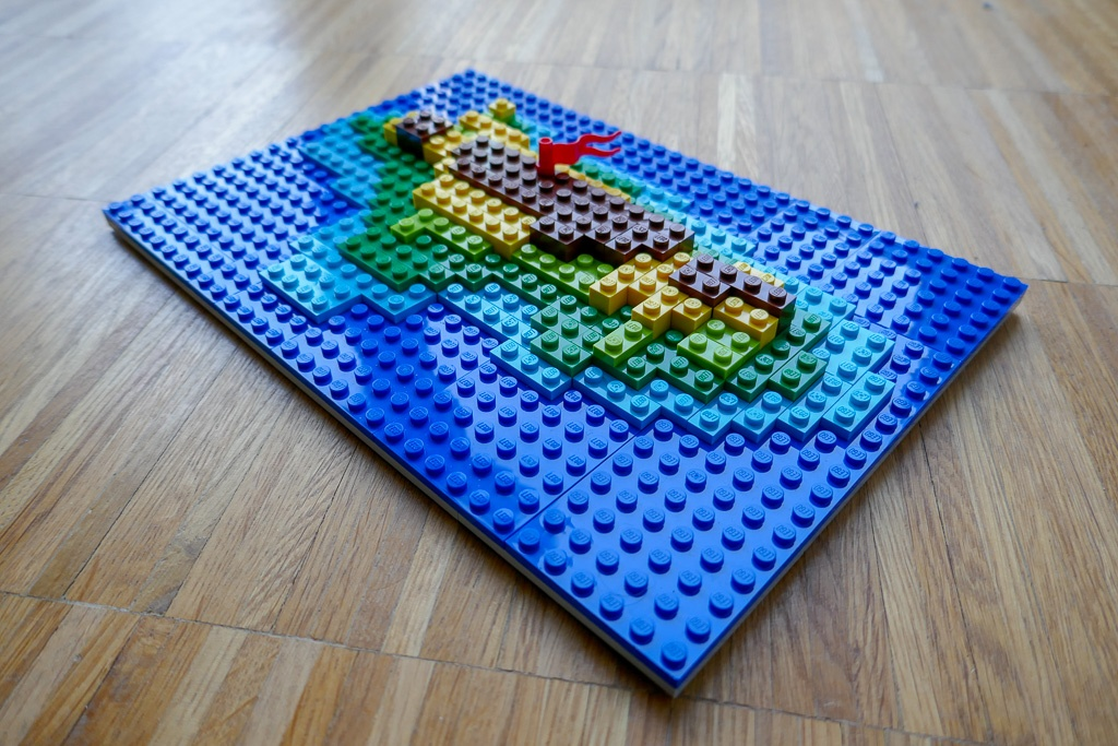 Build your own map with LEGO   HERE Developer When I was a kid  my favorite Christmas presents were often LEGO sets  Now  that I m a grown man  well  that hasn t really changed