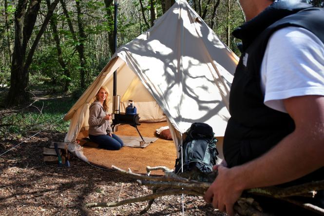 Wood Stove Hot Tent Cing