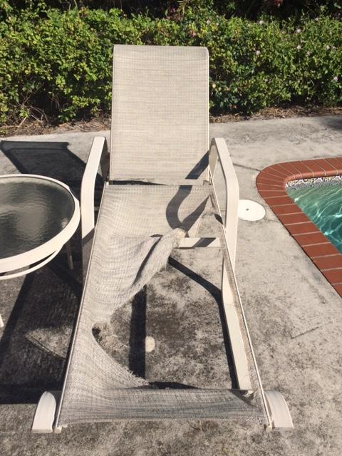 patio furniture repair your old set or