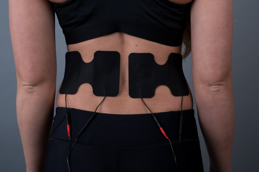 EMS in use on Lower back