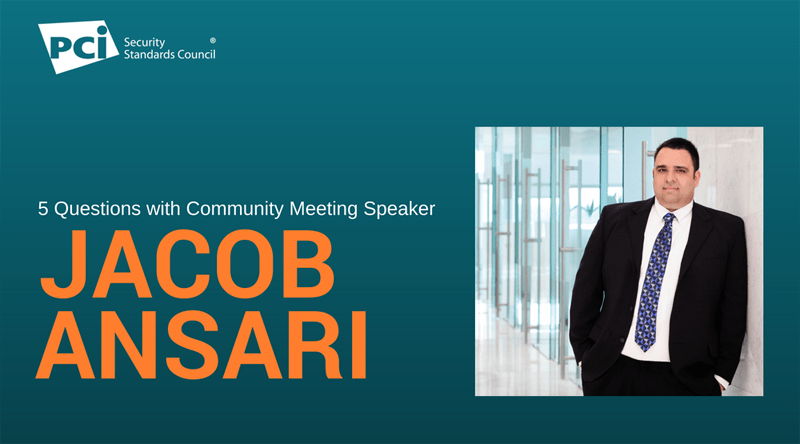 5 Questions with Community Meeting Speaker Jacob Ansari
