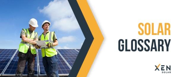 Solar Glossary