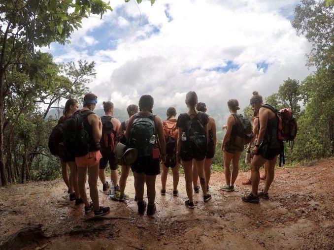 carly bishoff - jungle trek