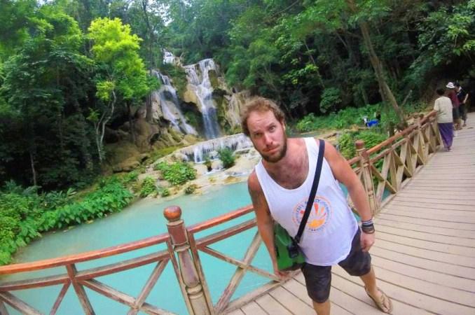 dom-faint-kuang-si-falls-laos