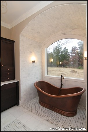 Raleigh Custom Home Builder | Barrel Vault Ceiling