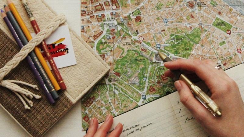 Carnet de voyage / Photo par oxana v