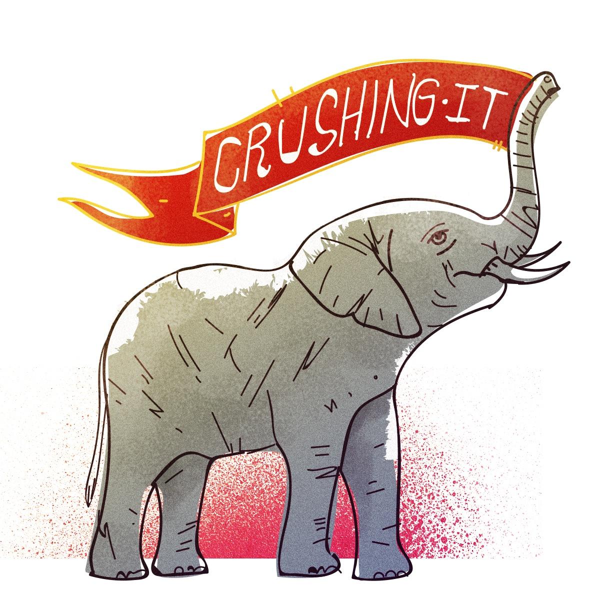 Crushing It