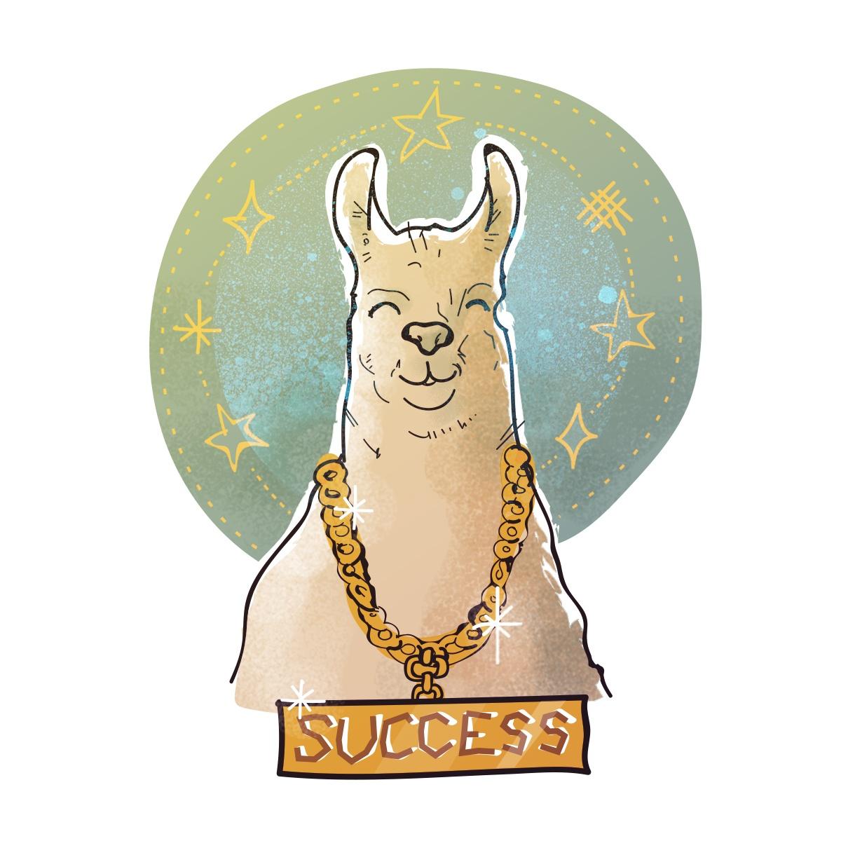 Success Llama