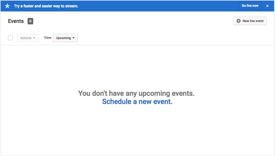 Schedule New Event