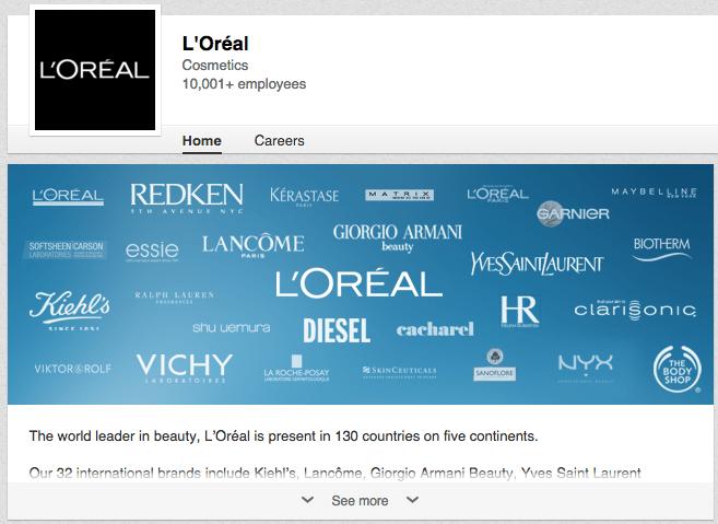 loreal-linkedin-page.png