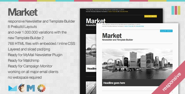 ThemeForest Email Newsletter Templates