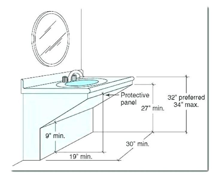 ada compliant school stainless steel sinks