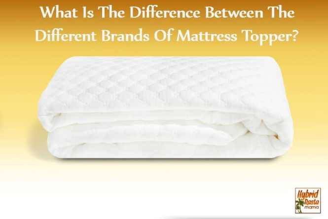 What Is The Difference Between Diffe Brands Of Mattress Topper By Hybridrastamama