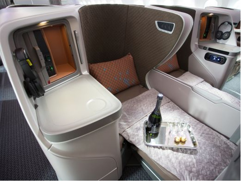 Singapore Airlines Unveils New Cabin Interior For Boeing