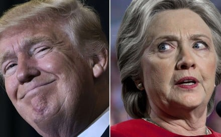 Donald Trump (left) is on track to become the second consecutive Republican president to come to power after losing the popular vote, with Hillary Clinton likely to achieve a hollow victory. Photo: AFP