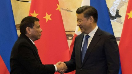 Image result for duterte and jinping