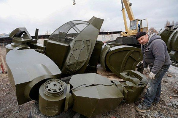 Reuters (Великибритания): в Донецке собирают гигантских ...