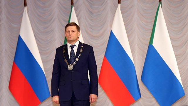 """Хабаровский губернатор заверил, что """"варягов"""" в правительстве не будет"""