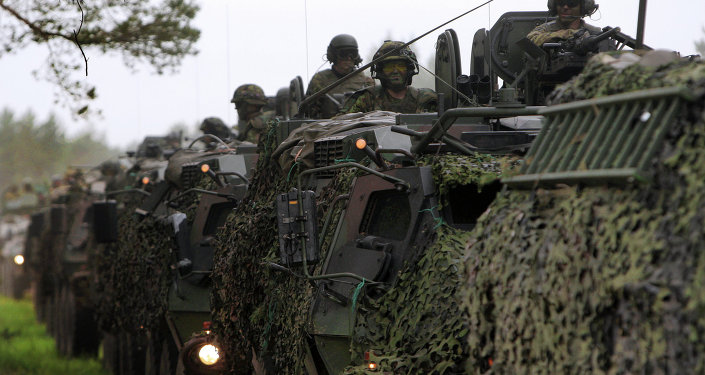 NATO's creation of a rapid-reaction force in Europe threatens peace and stability in the region and the world