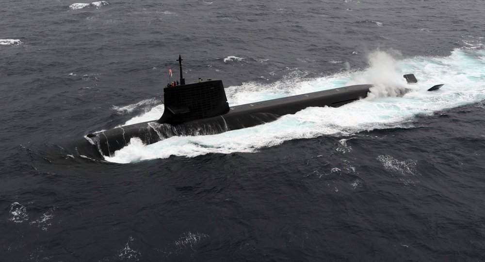 Japan Maritime Self-Defense Forces diesel-electric submarine Soryu. (File)