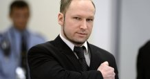 Norwegian Mass Killer Breivik Applies for Parole, Announces New Lawsuit