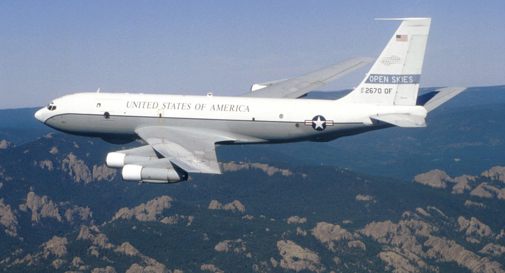 Boeing OC-135B Open Skies aircraft