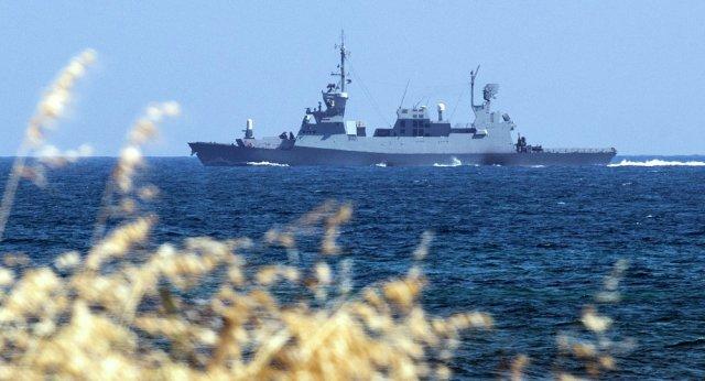 Sa'ar 5 a class of Israeli Navy corvettes