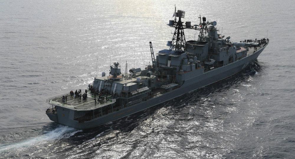Large antisubmarine ship Vice-Admiral Kulakov