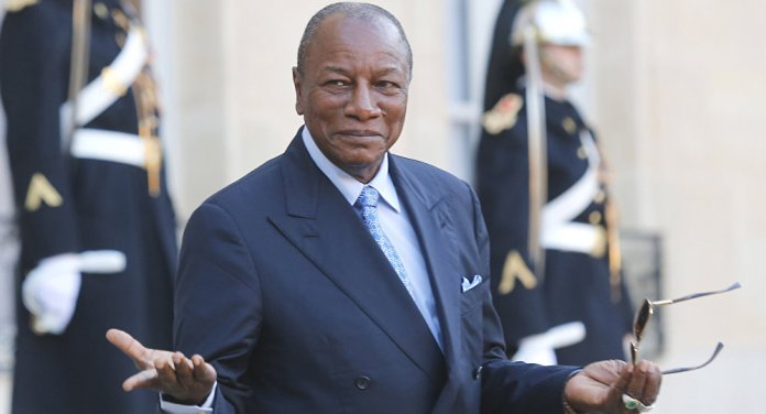 Image result for The President of Guinea